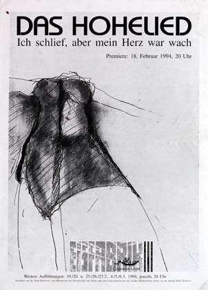 Plakat: Das Hohelied