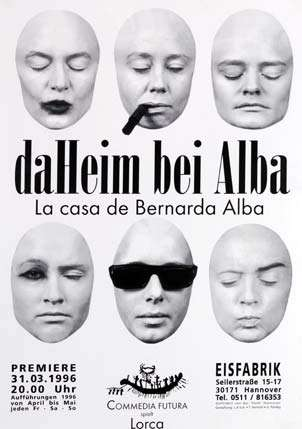 Plakat: Daheim bei Alba