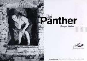 Plakat: Der Panther