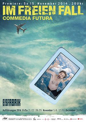 Plakat: Im freien Fall