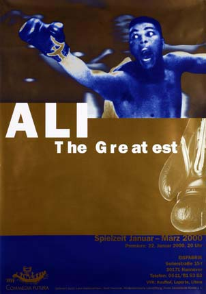 Plakat: Ali - The Greatest