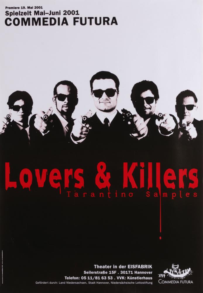 Plakat: Lovers & Killers