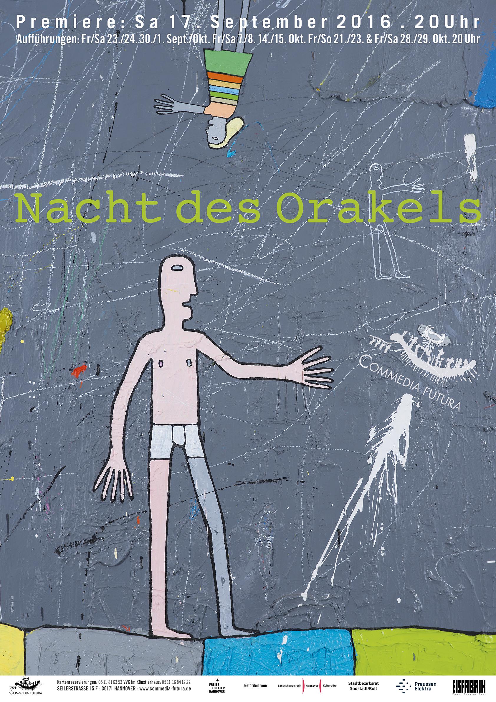 Plakat: Nacht des Orakels