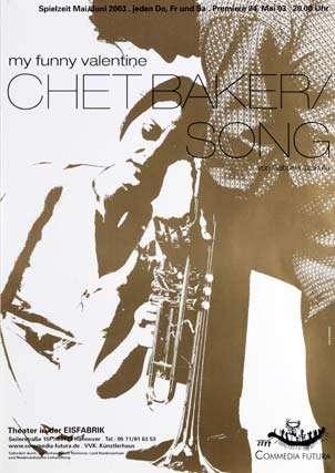 Plakat: My funny valentine – Chet Baker / Song