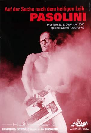 Plakat: Auf der Suche nach dem heiligen Leib - Pasolini