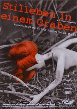 Plakat: Stillleben in einem Graben