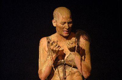 Plakat: Medea mit Argonauten  - eine Performance